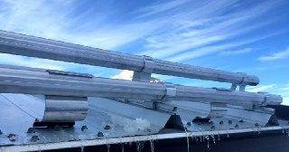 Монтаж снегозадержателей Кемерово цена от 831 руб.